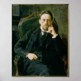 Portrait d'Anton Pavlovich Chekhov, 1898