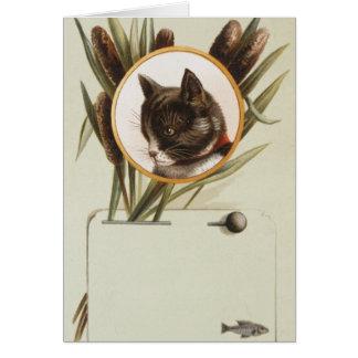 PORTRAIT DE CAT CARTE DE CORRESPONDANCE
