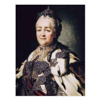 Portrait de Catherine II de la Russie Cartes Postales