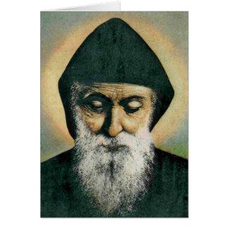 Portrait de Charbel de saint Carte