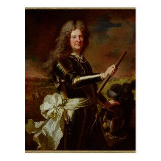Portrait de Charles-Auguste de Matignon Carte Postale