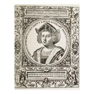 Portrait de Christophe Colomb Carte Postale