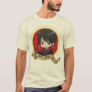 Portrait de Harry Potter d'Anime T-shirt