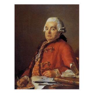 Portrait de Jacques David de Jacques Francois Carte Postale