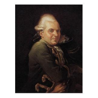 Portrait de Jacques-Louis David de Francois Buron Carte Postale