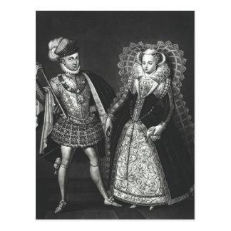 Portrait de la reine de Mary des Ecossais Carte Postale
