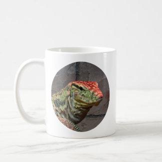 Portrait de lézard de moniteur mug