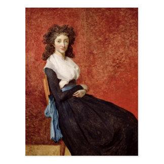Portrait de Madame Charles-Louis Trudaine Carte Postale