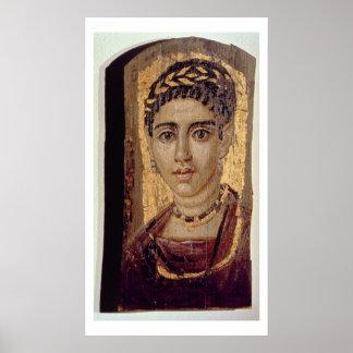 Portrait de maman d'une femme, de Fayum, Romano-Eg
