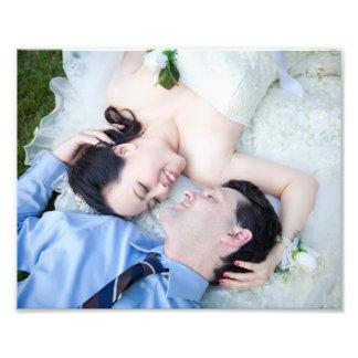 Portrait de mariage personnalisable photos d'art