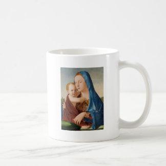 Portrait de Mary tenant le bébé Jésus Mug