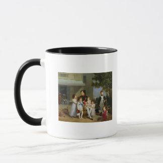 Portrait de Napoleon Bonaparte avec ses neveux Mug