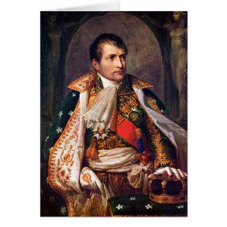 Portrait de Napoleon Bonaparte par Andrea Appiani Carte