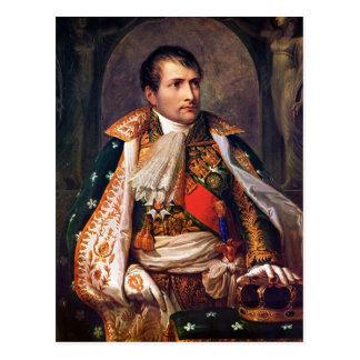 Portrait de Napoleon Bonaparte par Andrea Appiani Carte Postale