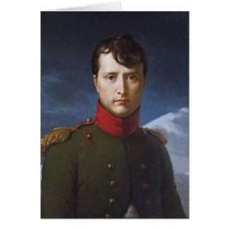 Portrait de premier consul de Napoleon Bonaparte Carte