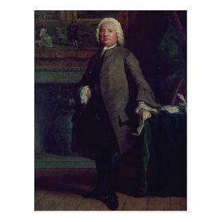 Portrait de Samuel Richardson 1750 Carte Postale
