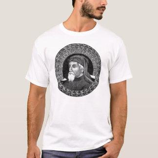 Portrait de T-shirt de Geoffrey Chaucer