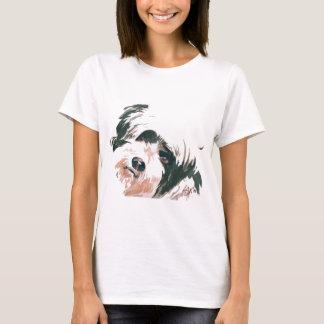 Portrait de Terrier tibétain T-shirt