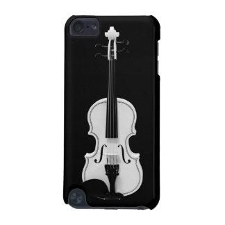 Portrait de violon - photographie noire et blanche coque iPod touch 5G