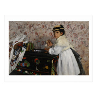 Portrait d'Edgar Degas | de Mlle. Hortense Carte Postale