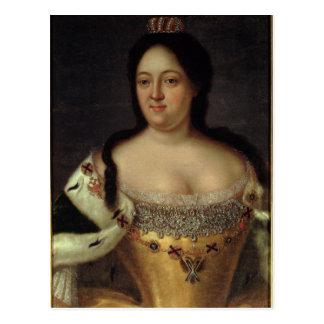 Portrait d'impératrice Anna Ioannovna Carte Postale
