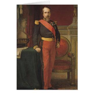 Portrait du napoléon III 1862 Carte