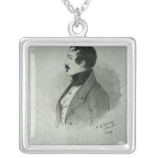 Portrait du napoléon III en tant que jeune homme,  Collier