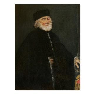 Portrait du procureur Nicolo Priuli Carte Postale
