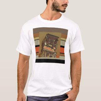 Portrait étranger d'objet façonné t-shirt