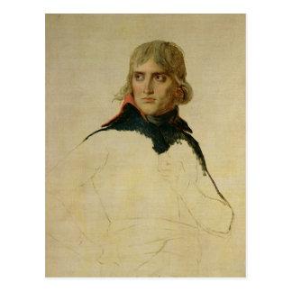 Portrait non fini du Général Bonaparte Carte Postale