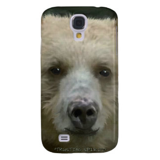 Portrait rare d'art de photo de faune de visage coque galaxy s4