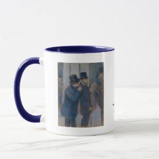 Portraits à la bourse des valeurs par Edgar Degas Mug