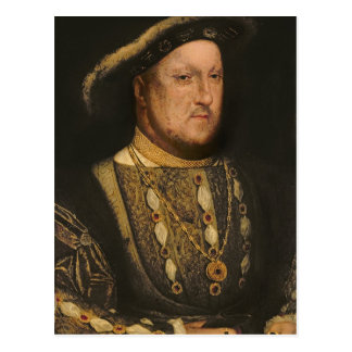 Portret van Henry VIII c.1536 Briefkaart