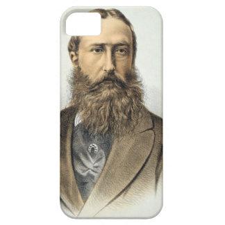 Portret van Leopold II (1835-1909), Koning van Barely There iPhone 5 Hoesje