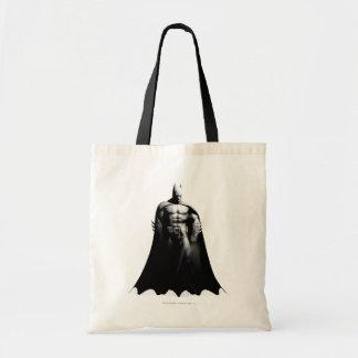 Pose large noire et blanche de la ville | Batman Sac En Toile Budget