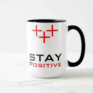 Positif de séjour mug