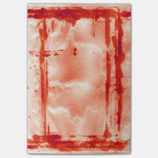Post-it® Appui vertical hanté par laboratoire rouge de