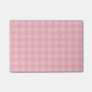 Post-it® Arrière - plan Checkered de motif de rétro guingan