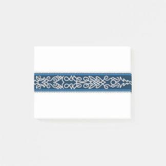Post-it® Bleu de motif de Viking