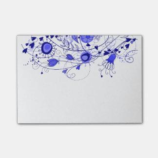 Post-it® Bleu marine lunatique - bloc-notes de post-it
