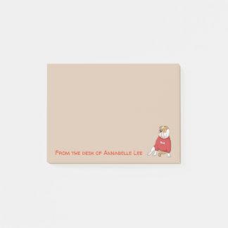 Post-it® Bouledogue anglais drôle