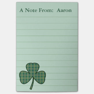 Post-it® Cadeau irlandais personnalisé de notes de post-it