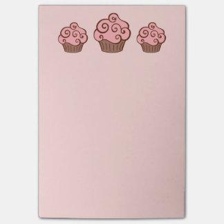 Post-it® Cadeau rose de notes de post-it d'école de cuisine