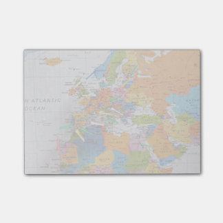 Post-it® Carte colorée de voyage