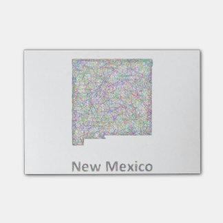 Post-it® Carte du Nouveau Mexique
