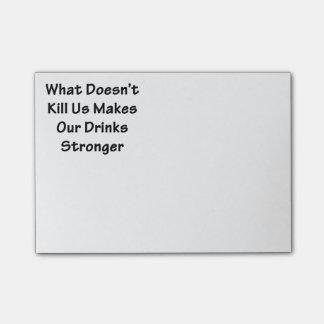 Post-it® Ce qui ne nous tue pas
