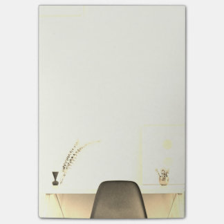Post-it® Chaise minimaliste d'or du bureau de