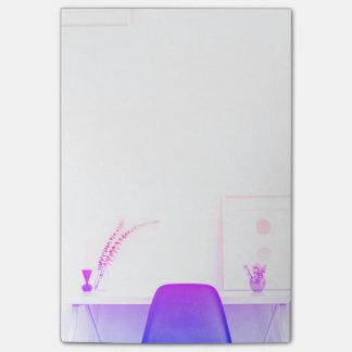 Post-it® Chaise pourpre d'Ombre du bureau de