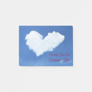 Post-it® Coeur de nuage