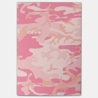 Post-it® Couleur rose de camouflage